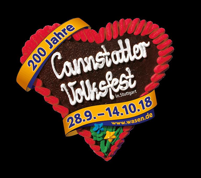 200 Jahre Cannstatter Volksfest in Stuttgart Lebkuchenherz