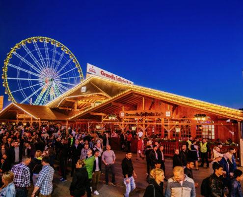 Freuen Sie sich jetzt schon auf Grandls Hofbräu-Zelt auf dem Stuttgarter Frühlingsfest